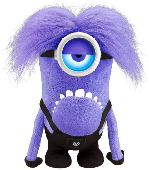 Despicable Me 2 Purple Minion 12-Inch Plush Figure
