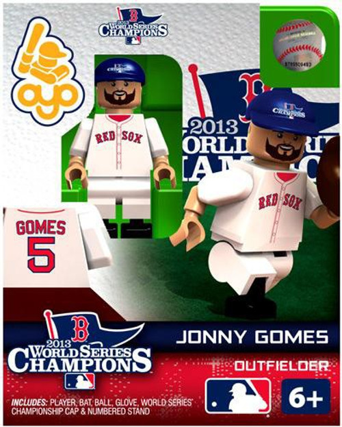 Boston Red Sox MLB 2013 World Series Champions Jonny Gomes Minifigure