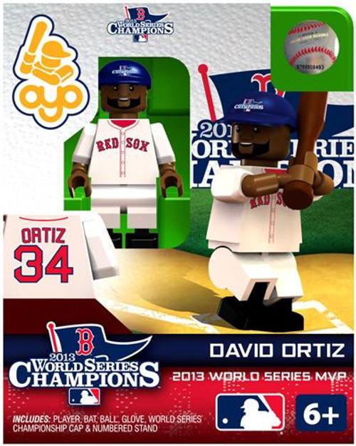 Boston Red Sox MLB 2013 World Series Champions David Ortiz Minifigure