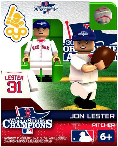 Boston Red Sox MLB 2013 World Series Champions Jon Lester Minifigure