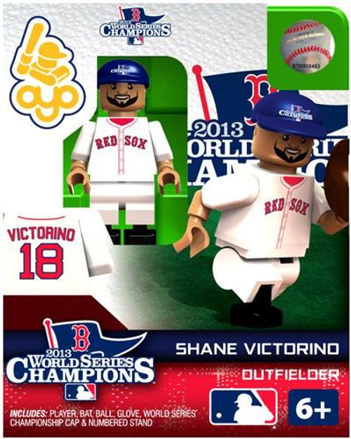 Boston Red Sox MLB 2013 World Series Champions Shane Victorino Minifigure