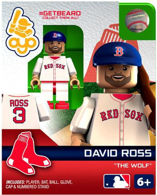 Boston Red Sox MLB Getbeard David Ross Minifigure GETBEARD [The Wolf]