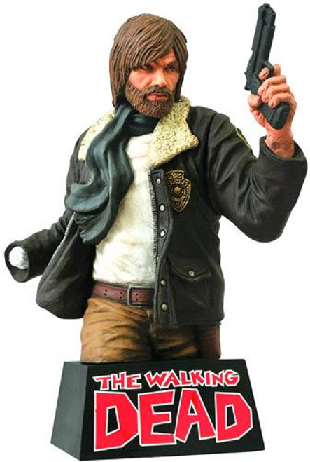 Walking Dead Comic Statues & Busts Rick Grimes Bust Bank [Full Color Version]