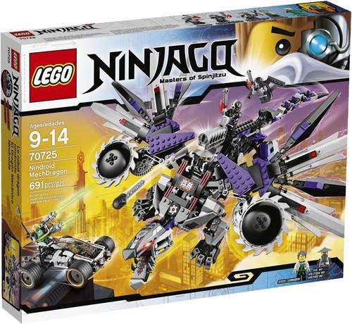 LEGO Ninjago Rebooted Nindroid MechDragon Set #70725
