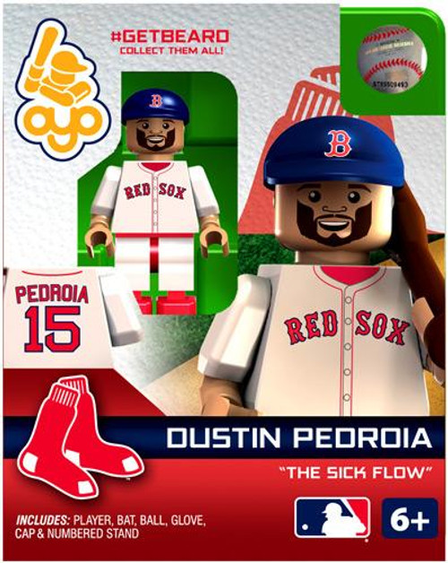 Boston Red Sox MLB Getbeard Dustin Pedroia Minifigure GETBEARD [The Sick Flow]