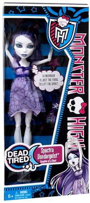 Monster High Dead Tired Spectra Vondergeist 10.5-Inch Doll