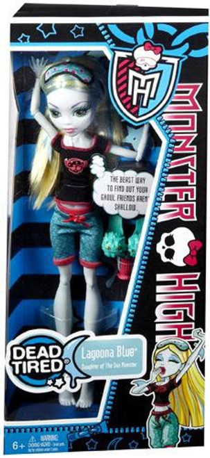Monster High Dead Tired Lagoona Blue 10.5-Inch Doll