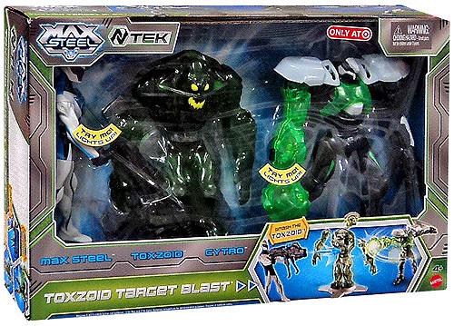 Max Steel Toxzoid Target Blast Exclusive Action Figure 3-Pack