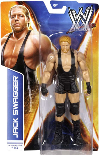 WWE Wrestling Series 36 Jack Swagger Action Figure #10
