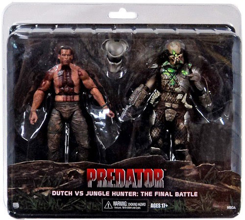 NECA Predator Dutch vs Jungle Hunter Exclusive Action Figure [The Final Battle]