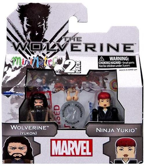 The Wolverine Wolverine [Yukon] & Ninja Yukio Exclusive Minifigure 2-Pack