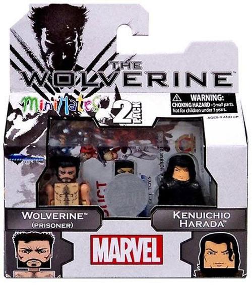 The Wolverine Wolverine [Prisoner] & Kenuichio Harada Exclusive Minifigure 2-Pack