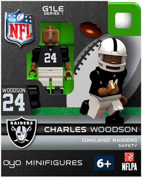 Oakland Raiders NFL Generation 1 Series 1 Charles Woodson Minifigure