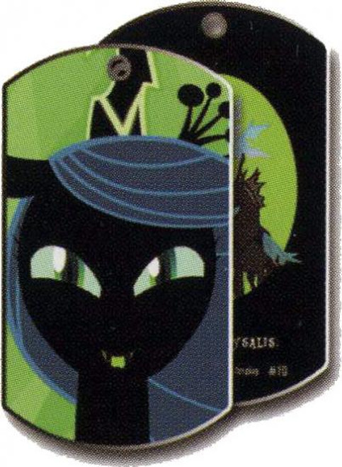 My Little Pony Friendship is Magic Dog Tags Queen Chrysalis Dog Tag #10 [Loose]