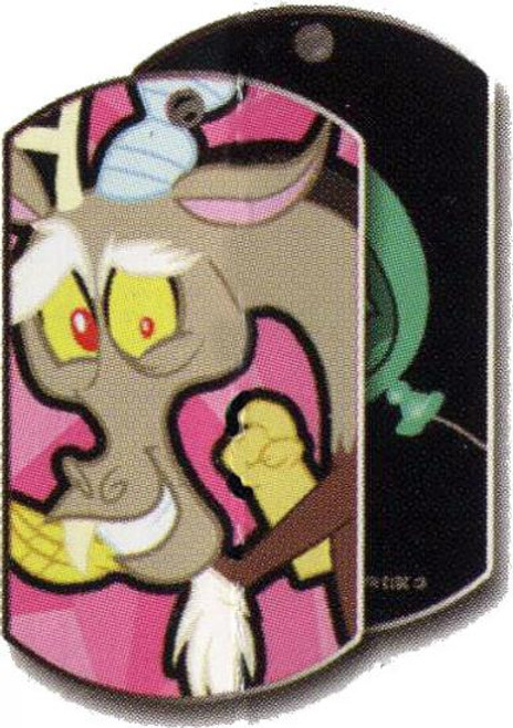 My Little Pony Friendship is Magic Dog Tags Discord Dog Tag #11 [Loose]