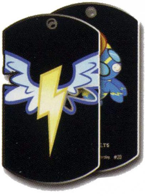 My Little Pony Friendship is Magic Dog Tags Wonderbolts Dog Tag #20 [Loose]