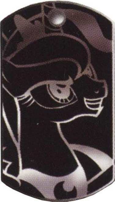 My Little Pony Friendship is Magic Dog Tags Metallic Princess Luna Dog Tag #32 [Loose]