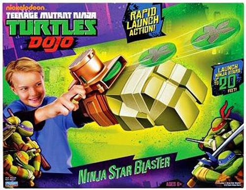 Teenage Mutant Ninja Turtles Nickelodeon Dojo Ninja Star Blaster Exclusive Roleplay Toy