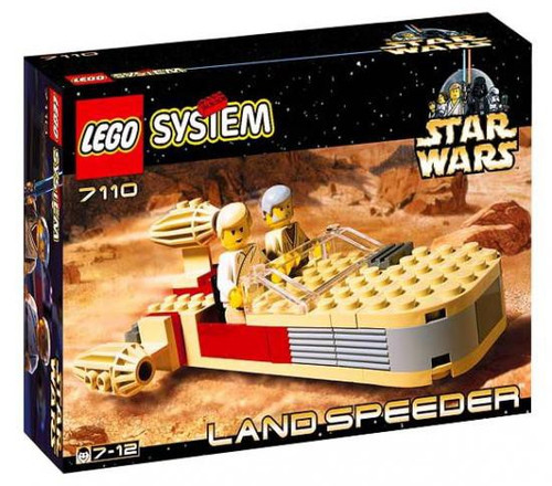 LEGO Star Wars A New Hope Landspeeder Set #7110 [New]