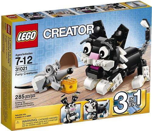 LEGO Creator Furry Creatures Set #31021
