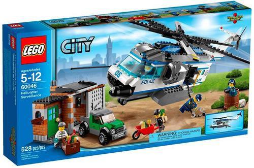 LEGO City Helicopter Surveillance Set #60046