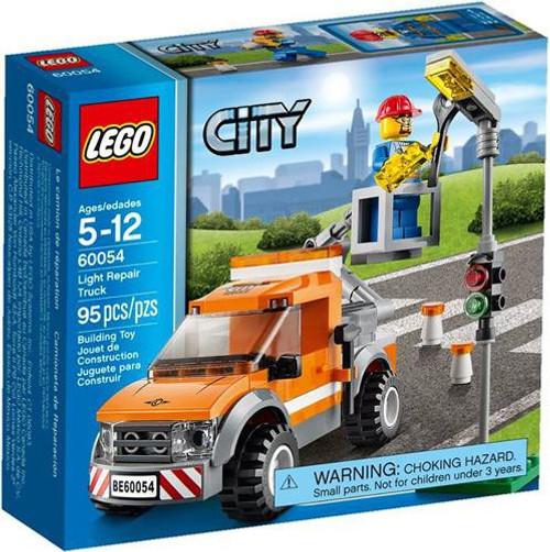 LEGO City Light Repair Truck Set #60054