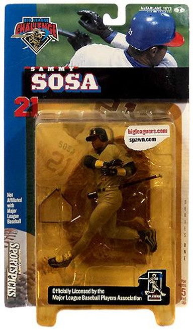 McFarlane Toys MLB Chicago Cubs Sports Picks Big League Challenge Sammy Sosa Exclusive Action Figure [Damaged Package]