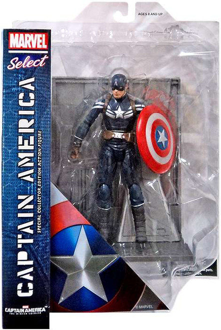 The Winter Soldier Marvel Select Captain America Action Figure [The Winter Soldier]