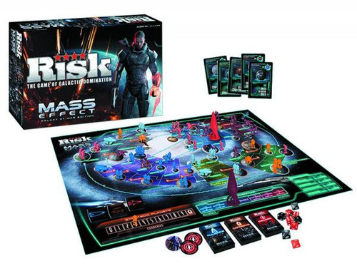 Galaxy At War Mass Effect Risk Board Game