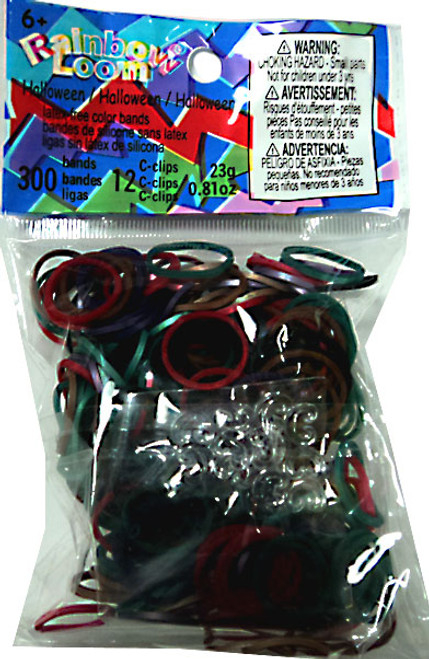 Rainbow Loom Halloween Mix Rubber Bands Refill Pack [300 ct]