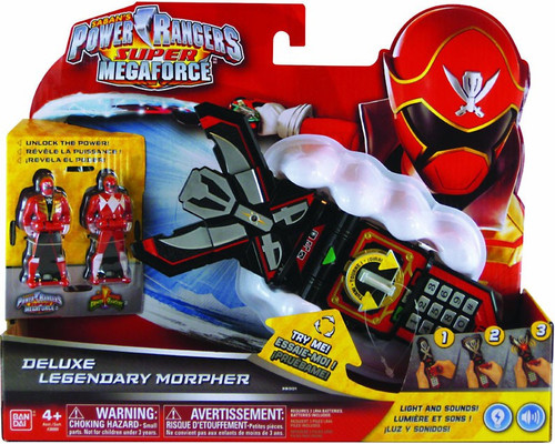 Power Rangers Super Megaforce Deluxe Legendary Morpher Roleplay Toy
