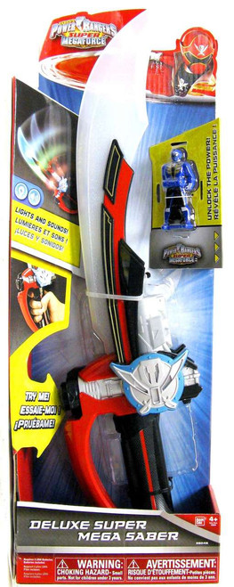 Power Rangers Super Megaforce Deluxe Super Mega Saber Roleplay Toy