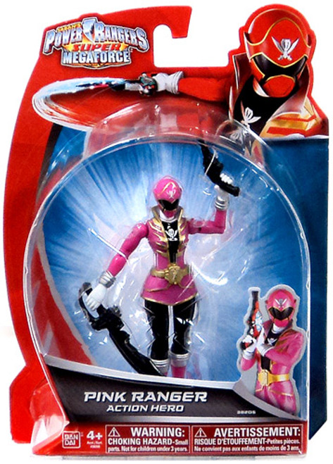 Power Rangers Super Megaforce Pink Ranger Action Hero Action Figure
