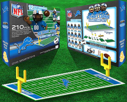 NFL Generation 1 Detroit Lions Gametime Set