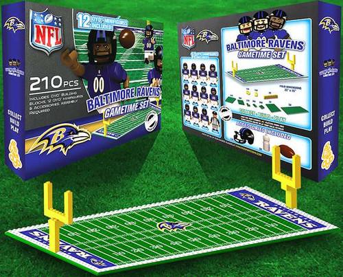 NFL Generation 1 Baltimore Ravens Gametime Set