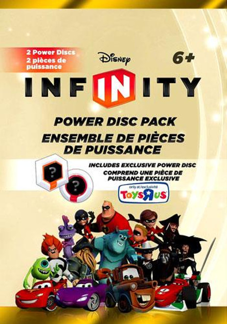 Disney Infinity Series 4 Exclusive Power Disc Pack [Gold]
