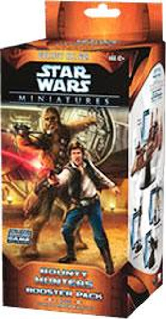 Star Wars Collectible Miniatures Game Bounty Hunters Booster Pack