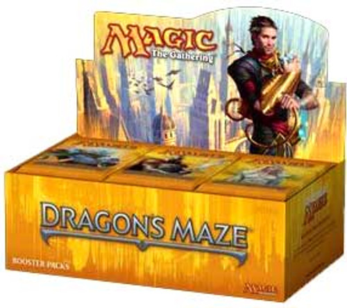 MtG Dragon's Maze Booster Box [Spanish] [Sealed]