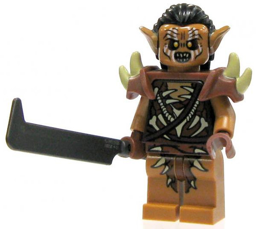 LEGO The Hobbit Loose Gundabad Orc Minifigure [Sword Loose]
