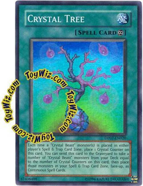 YuGiOh GX Duelist Pack Jesse Anderson Super Rare Crystal Tree DP07-EN020