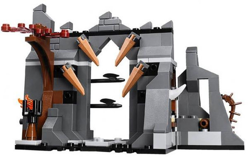 LEGO The Hobbit Terrain Sets Gundabad Battlement [Loose]