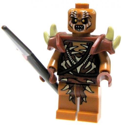 LEGO The Hobbit Loose Gundabad Orc Minifigure [Spear Loose]