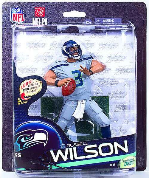 McFarlane Toys NFL Sports Picks Series 33 Russell Wilson (Seattle Seahawks) Action Figure [Gray Jersey & Gray Pants]