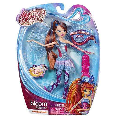 Winx Club Sirenix Bloom 11.5-Inch Doll
