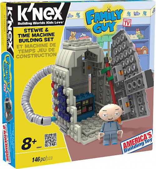 K'NEX Family Guy Stewie & Time Machine Set #44043