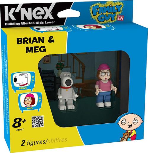 K'NEX Family Guy Brian & Meg Minifigure 2-Pack #44041