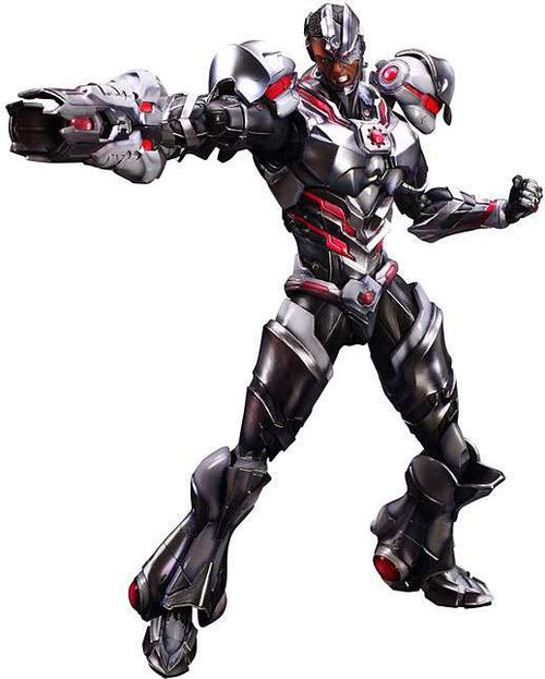 DC Play Arts Kai Variant Cyborg Action Figure #09