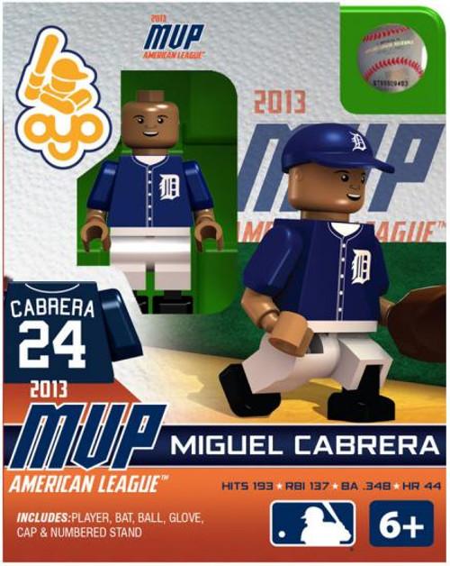 Detroit Tigers MLB 2013 AL MVP Miguel Cabrera Minifigure