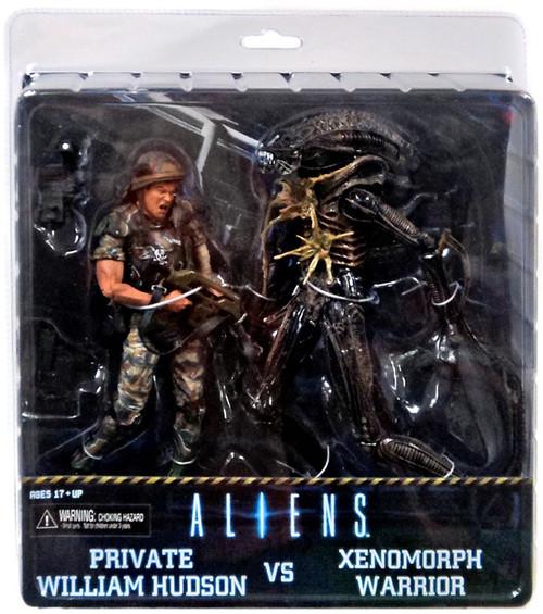 NECA Aliens Private William Hudson vs. Xenomorph Warrior Action Figure 2-Pack