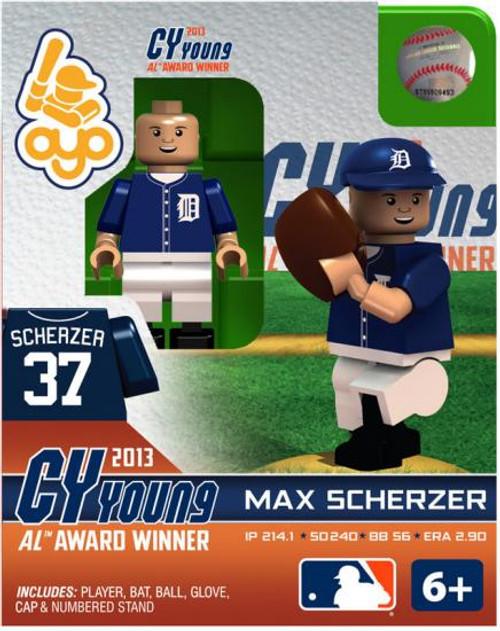 Detroit Tigers MLB 2013 AL Cy Young Max Scherzer Minifigure